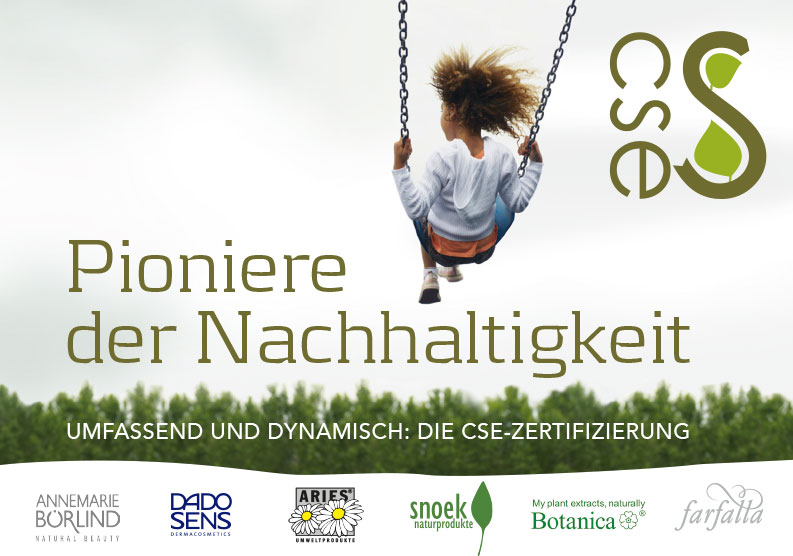 Pioneers of Sustainability – CSE brochure (pdf) [Available in German only]