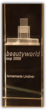 Beautyworld Cup 2009 für Annemarie Lindner