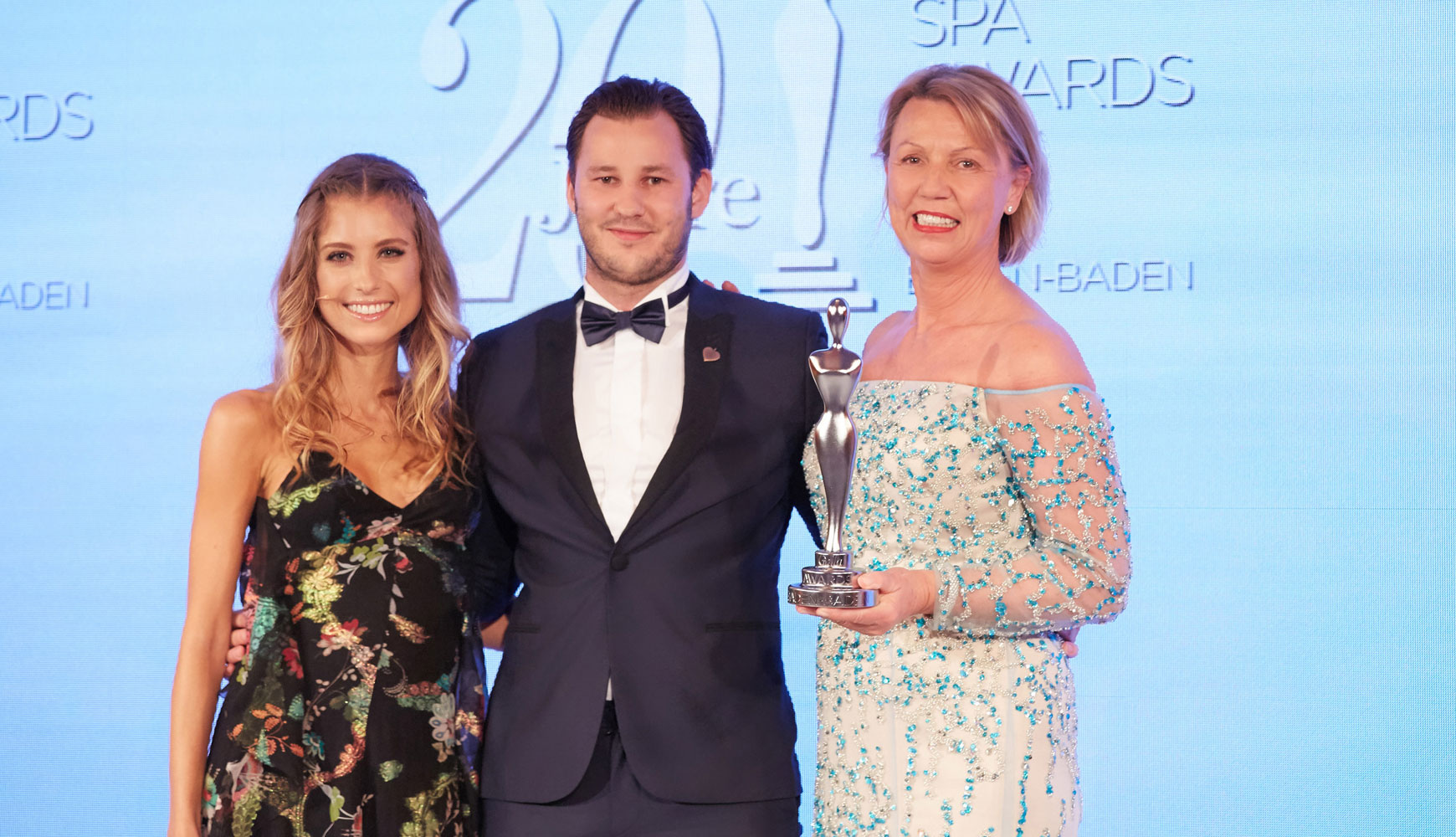 ANNEMARIE BÖRLIND - Nicolas Lindner and Daniela Lindner at the GALA SPA AWARDS