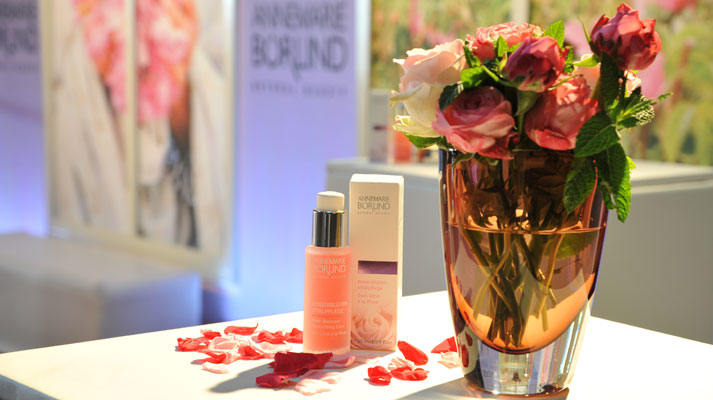 Rosy times in the Börlind Beauty Lounge