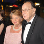 Speaker Hans-Dietrich Genscher with wife Barbara