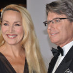 Supporter for Tolerance Jerry Hall with husband W. Hemsley