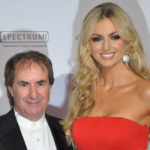 Chris de Burgh with his daughter Rosanna Davison