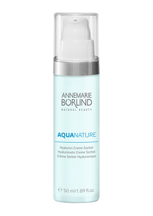AQUANATURE System Hydro Hyaluron Creme Sorbet ANNEMARIE BÖRLIND
