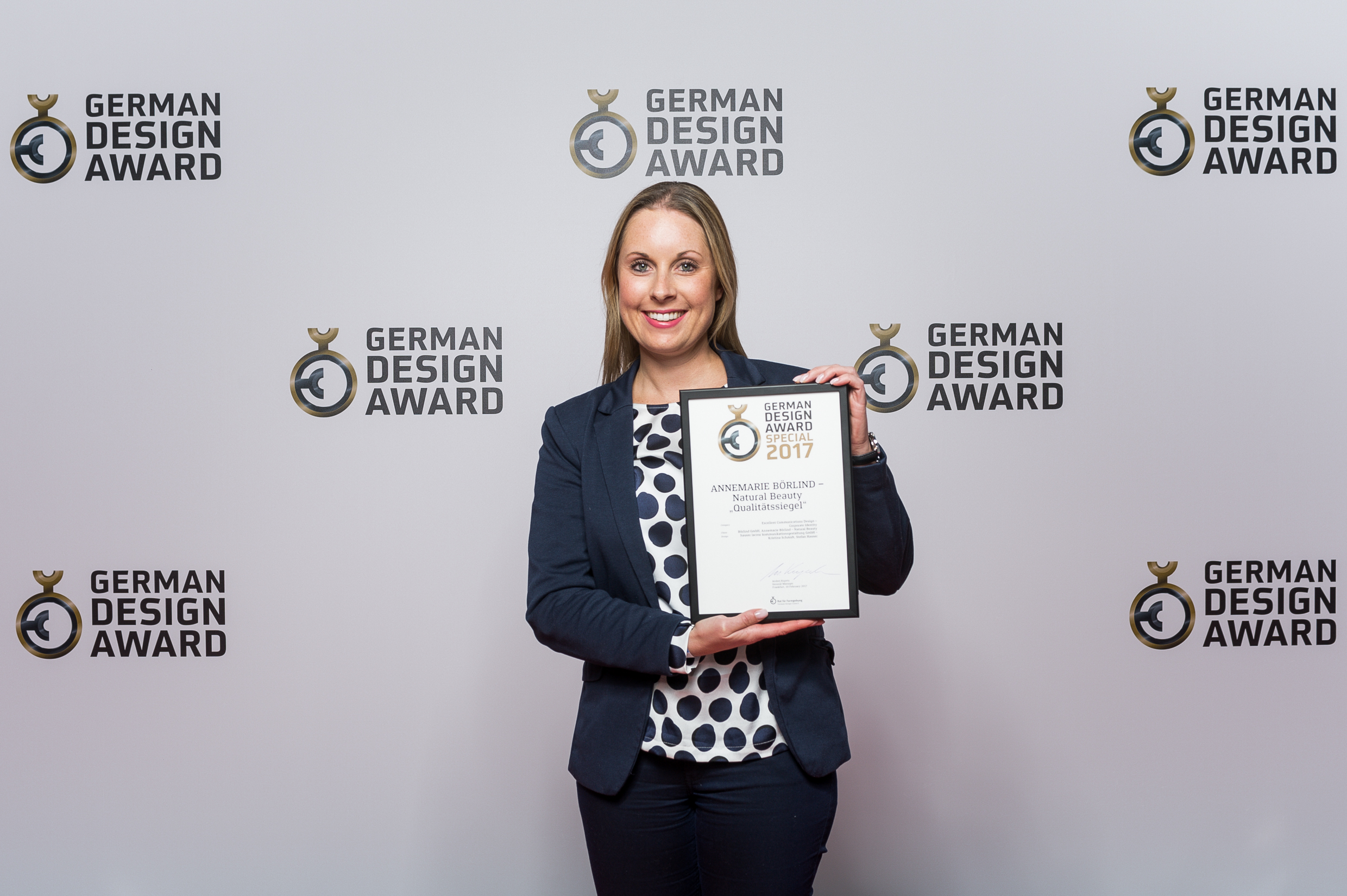 ANNEMARIE BÖRLIND - Catharina Kübler at the German Design Award