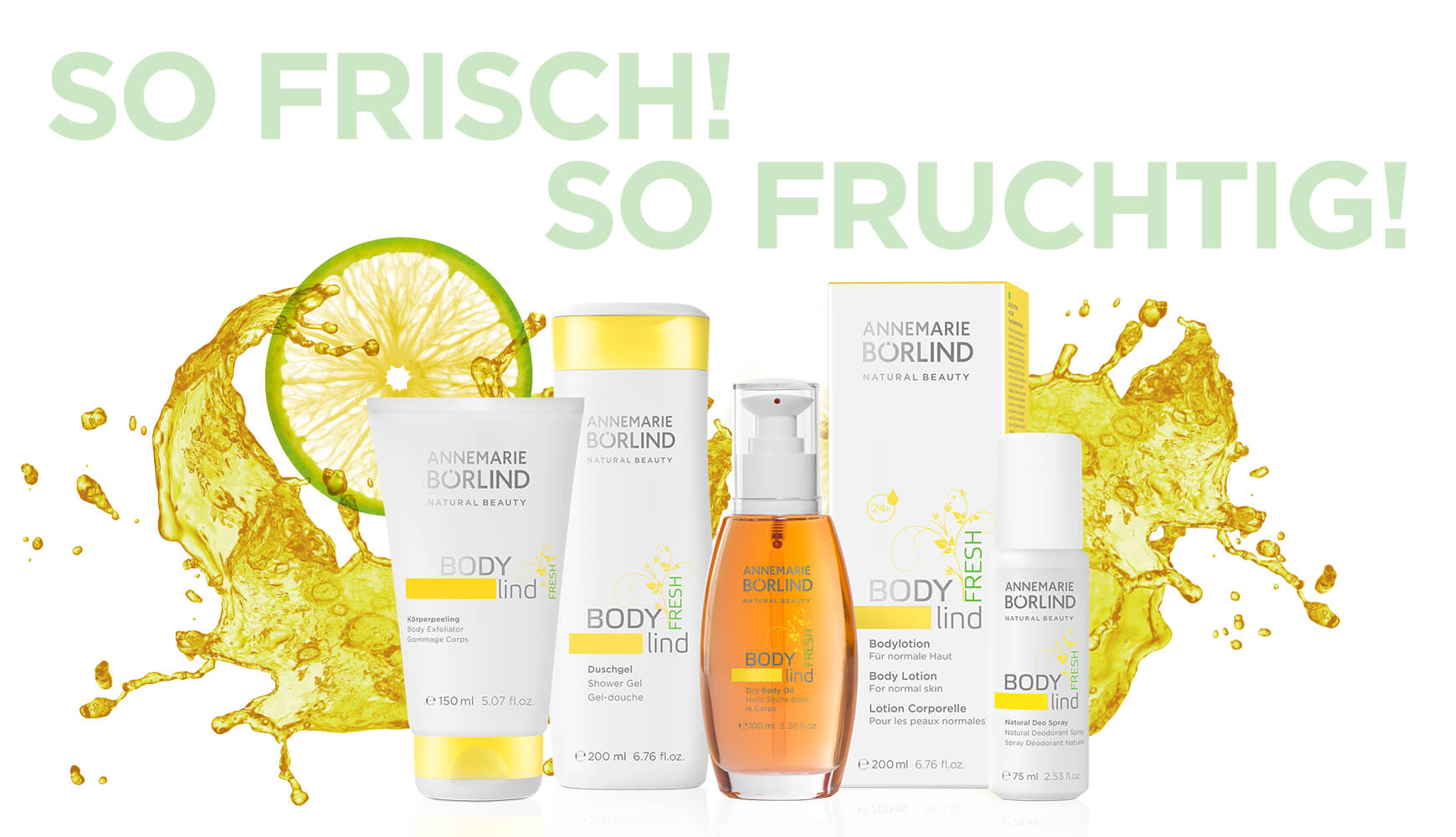 ANNEMARIE BÖRLIND BODY lind FRESH – So frisch! So fruchtig!