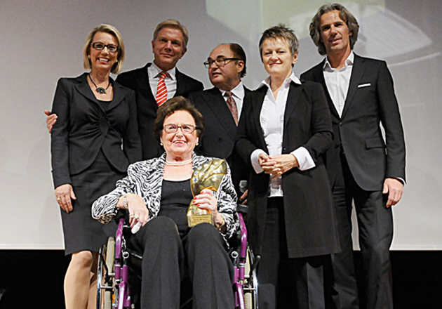 ANNEMARIE BÖRLIND - Annemarie Lindner beim Maurice Lacroix Business-Award