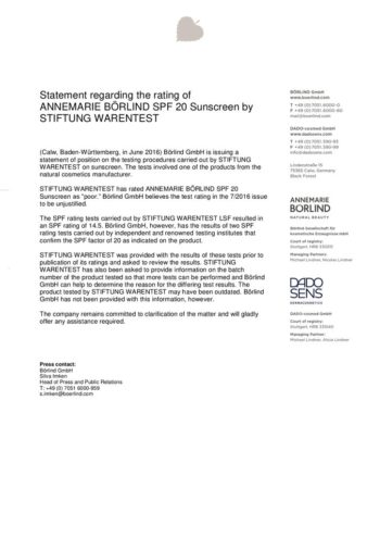 thumbnail of Statement_AB_Rating of SUn Fluid by Stiftung Warentest_200519