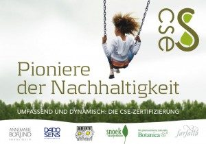Pioneers of Sustainability - CSE brochure (available in German only)