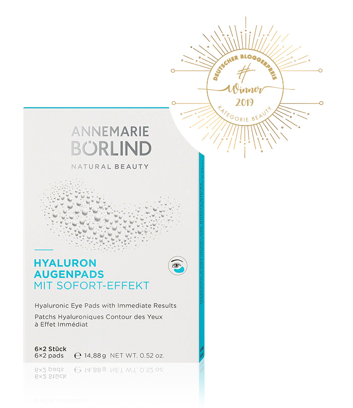 ANNEMARIE BÖRLIND - HYALURONIC EYE PADS