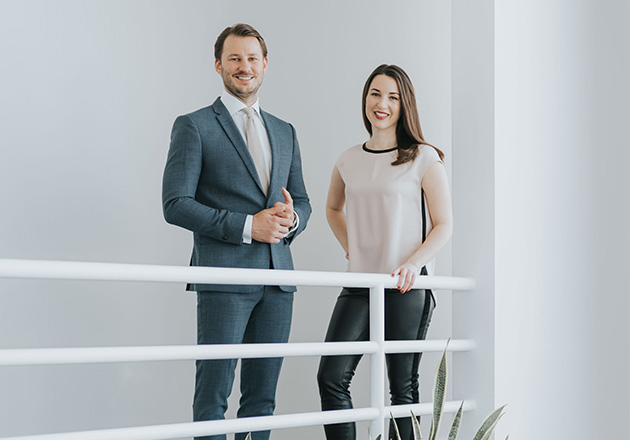 ANNEMARIE BÖRLIND Alicia and Nicolas Lindner take over the management