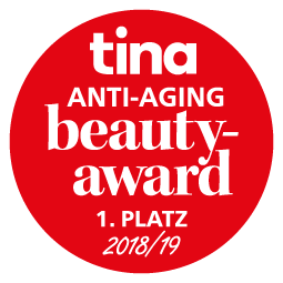 ANNEMARIE BÖRLIND 3 IN 1 GESICHTSÖL – 1. Platz beim tina ANTI-AGING beauty-award 2018/19 in der Kategorie »Tagespflege«