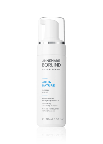 ANNEMARIE BÖRLIND AQUANATURE Refreshing Cleansing Mousse