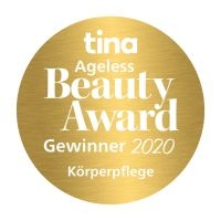 ANNEMARIE BÖRLIND BODY CARE – Gewinner in der Kategorie Körperpflege des tina Ageless Beauty Awards 2020